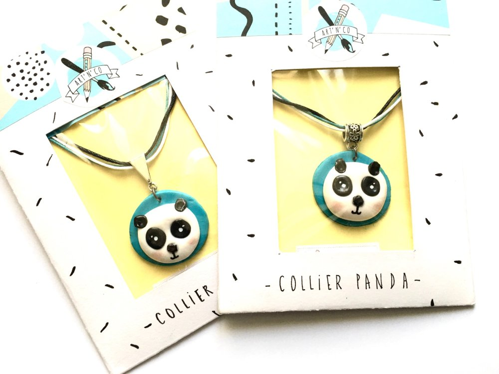 Collier panda