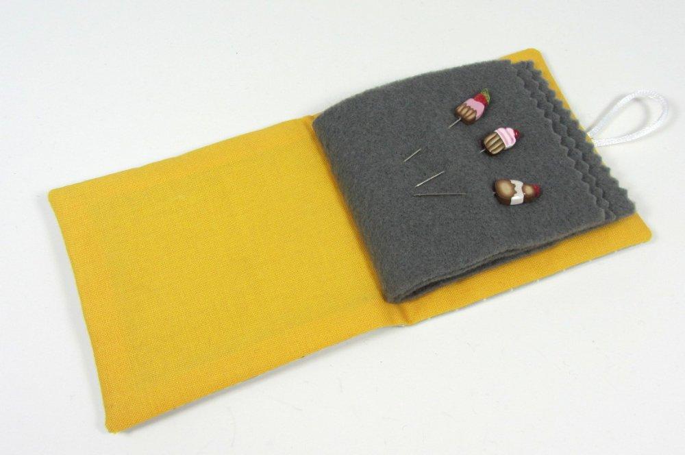 Porte-aiguilles, porte-épingles pour couture et broderie