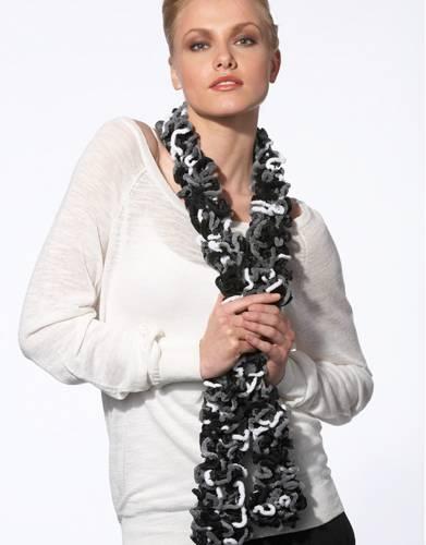 788 605- laine katia - pelote gala blanc/noir