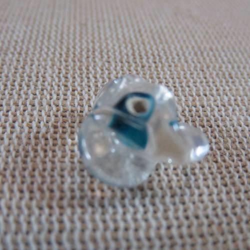 30 Perles de verre Hélicoidal Lampwork
