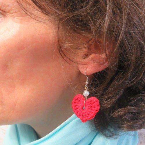 boucle d'oreille crochet femme