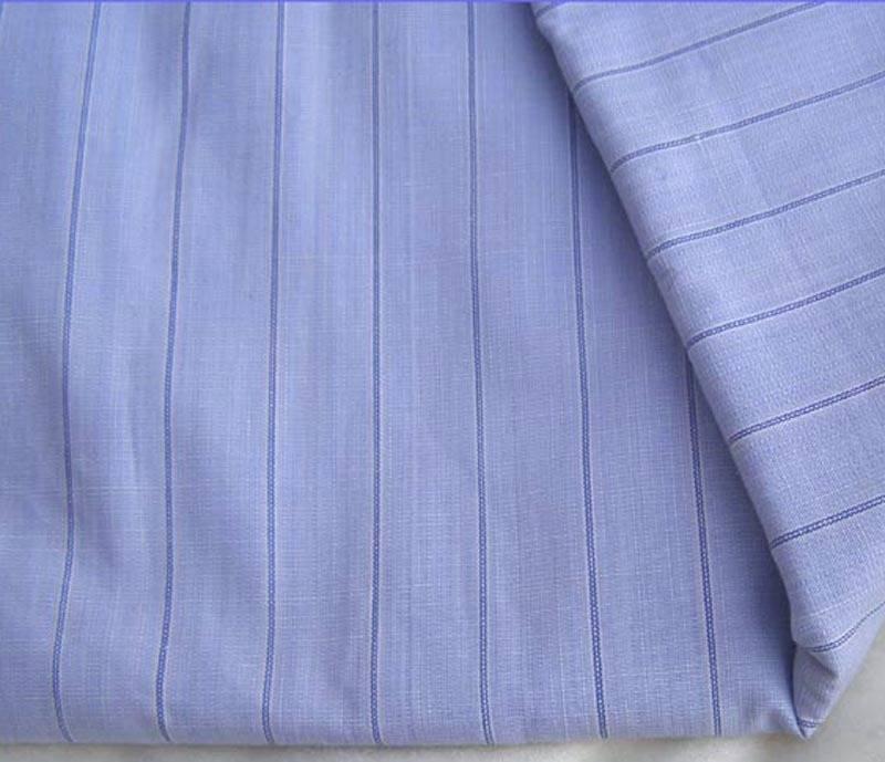 TISSU percale de coton vintage à rayures - 1,50 cmX 34 cm large