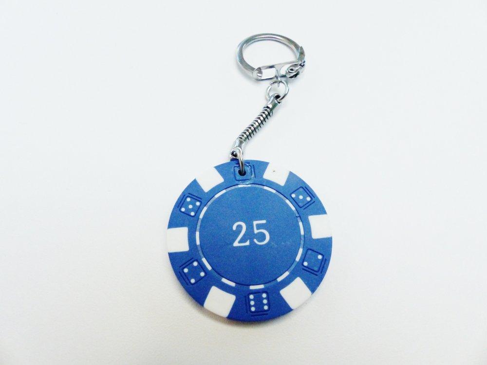 porte clé jeton de poker joueur flambeur casino cadeau