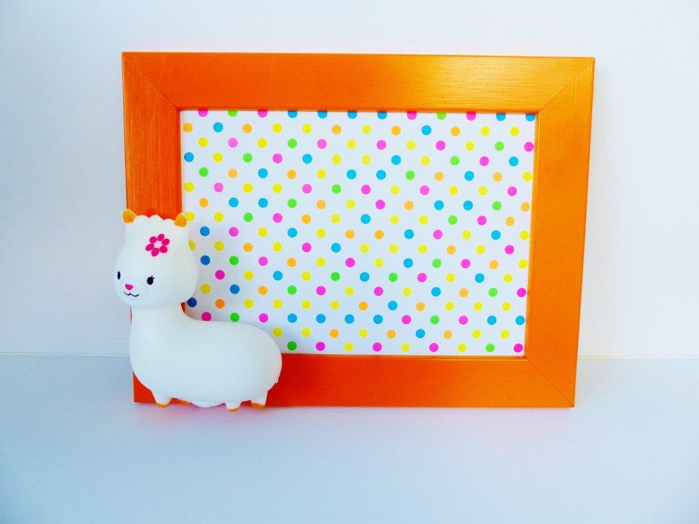 cadre LAMA ALPAGA en relief 3D pour enfant bébé cadre photo