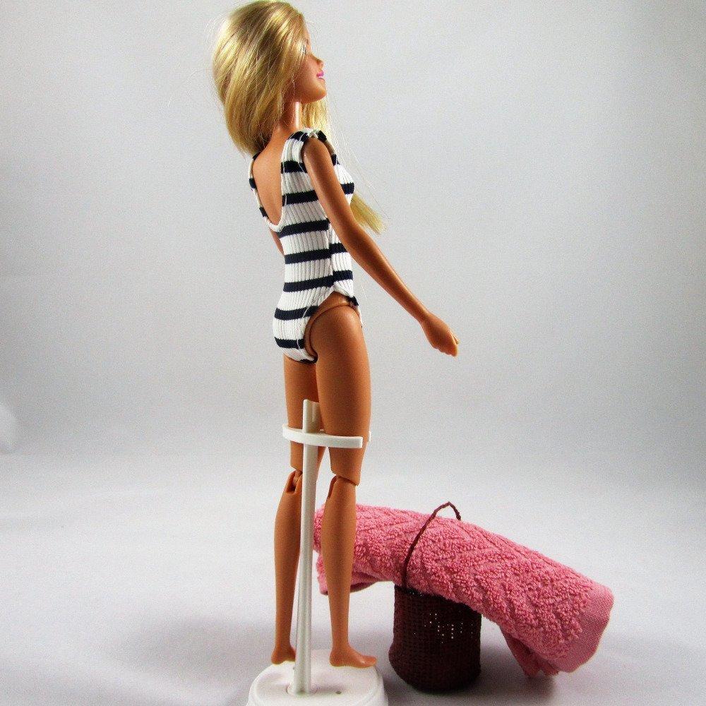 """Vêtements pour poupée Barbie - """"A la plage"""""""