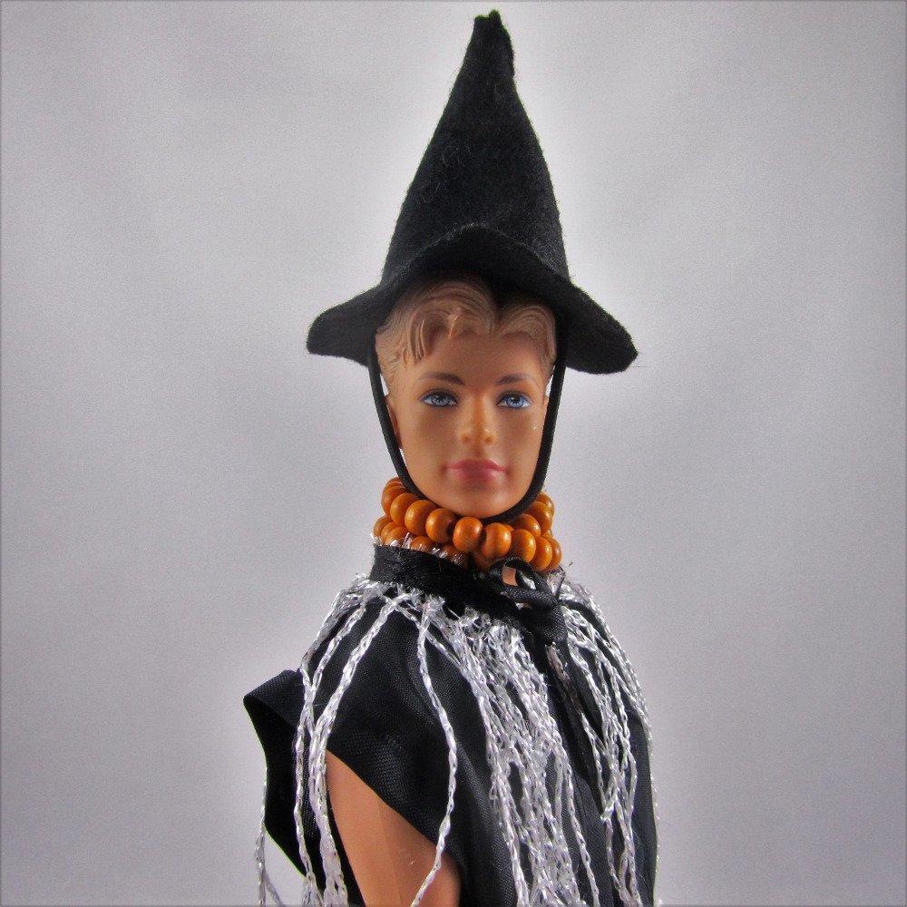 """Vêtements pour poupée Barbie - """"Collection Halloween - Elle et lui"""""""