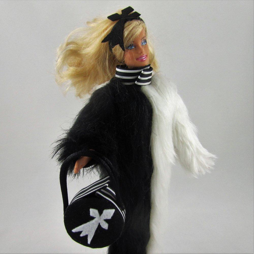 """Vêtements pour poupée Barbie - """"Manteau long """"Breizhitude"""""""""""
