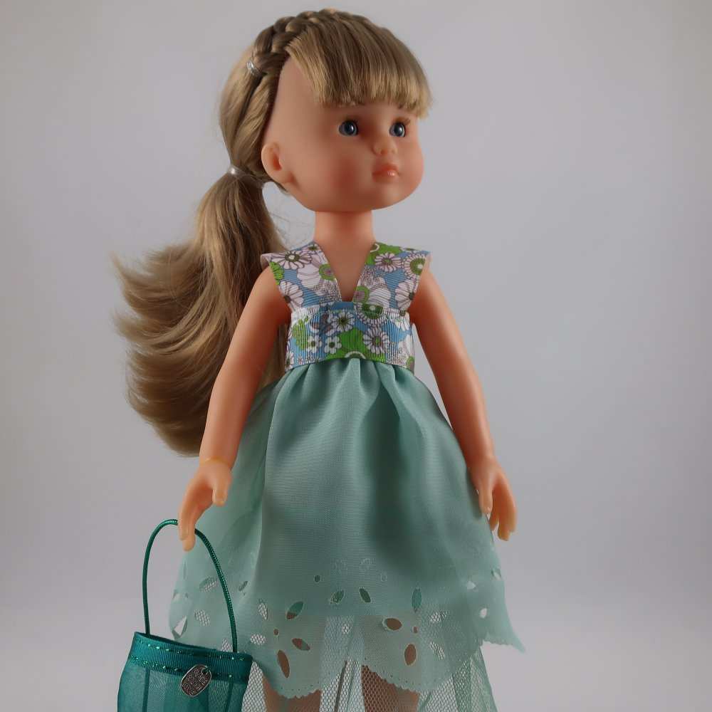 Vêtements pour poupée 32/33cm, Chérie Corolle, Paola Reina - Ma robe chérie