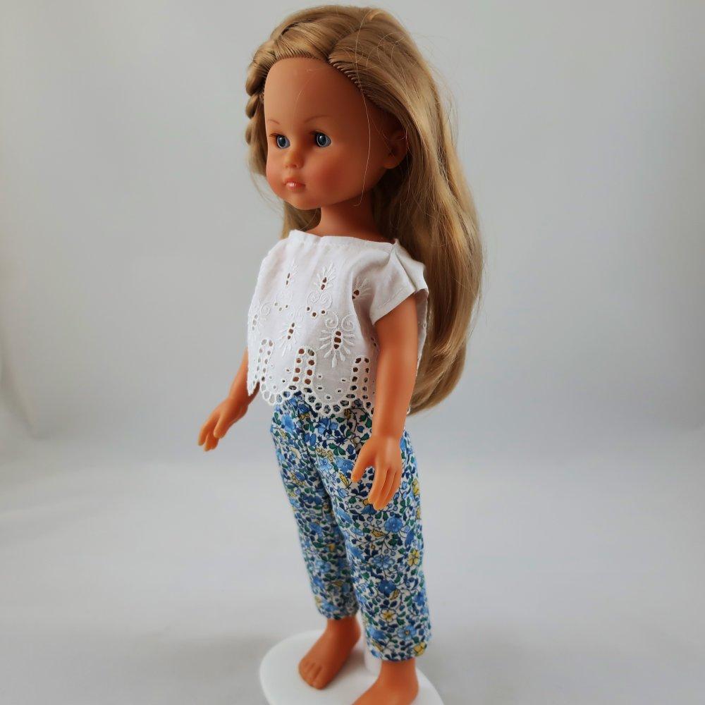 "Vêtements pour poupées Chérie Corolle, Paola Reina, 32/33cm - ""Ensemble printanier"""