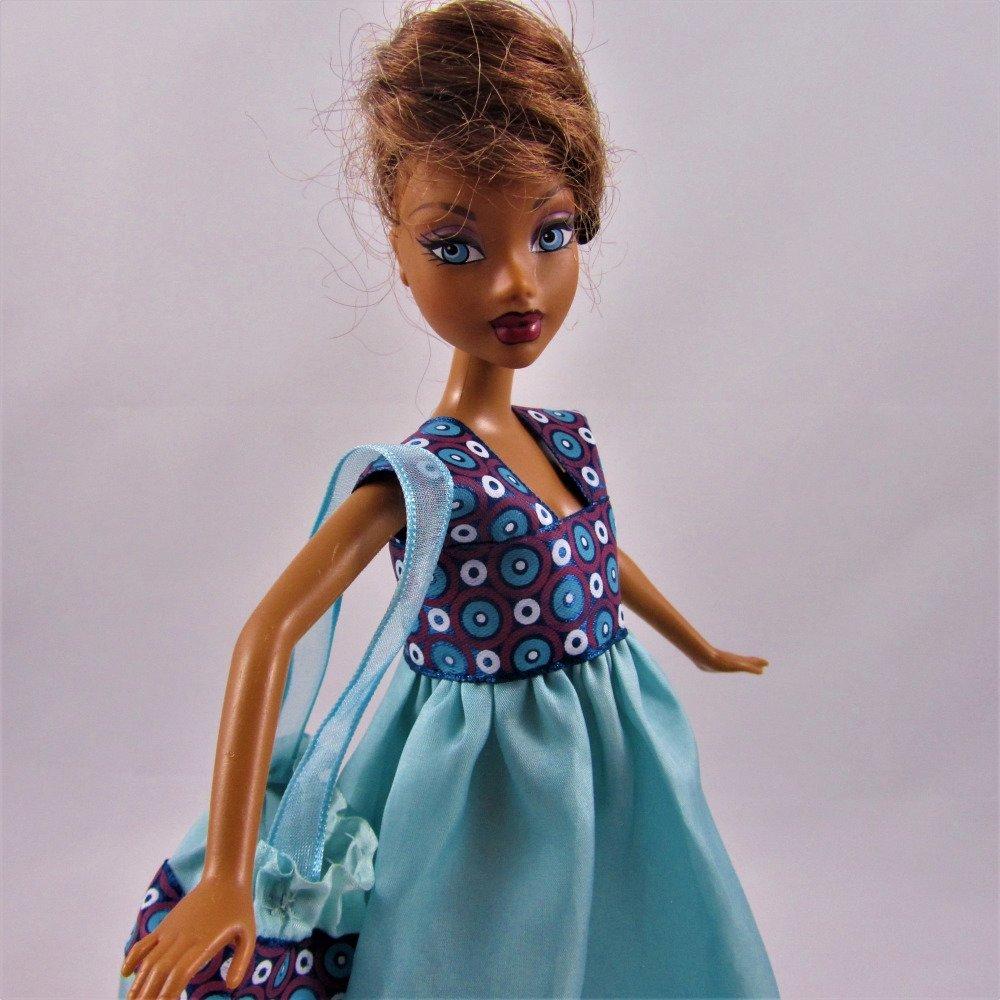 """Vêtements pour poupée Barbie - """"Robe pour un soir d'été"""""""