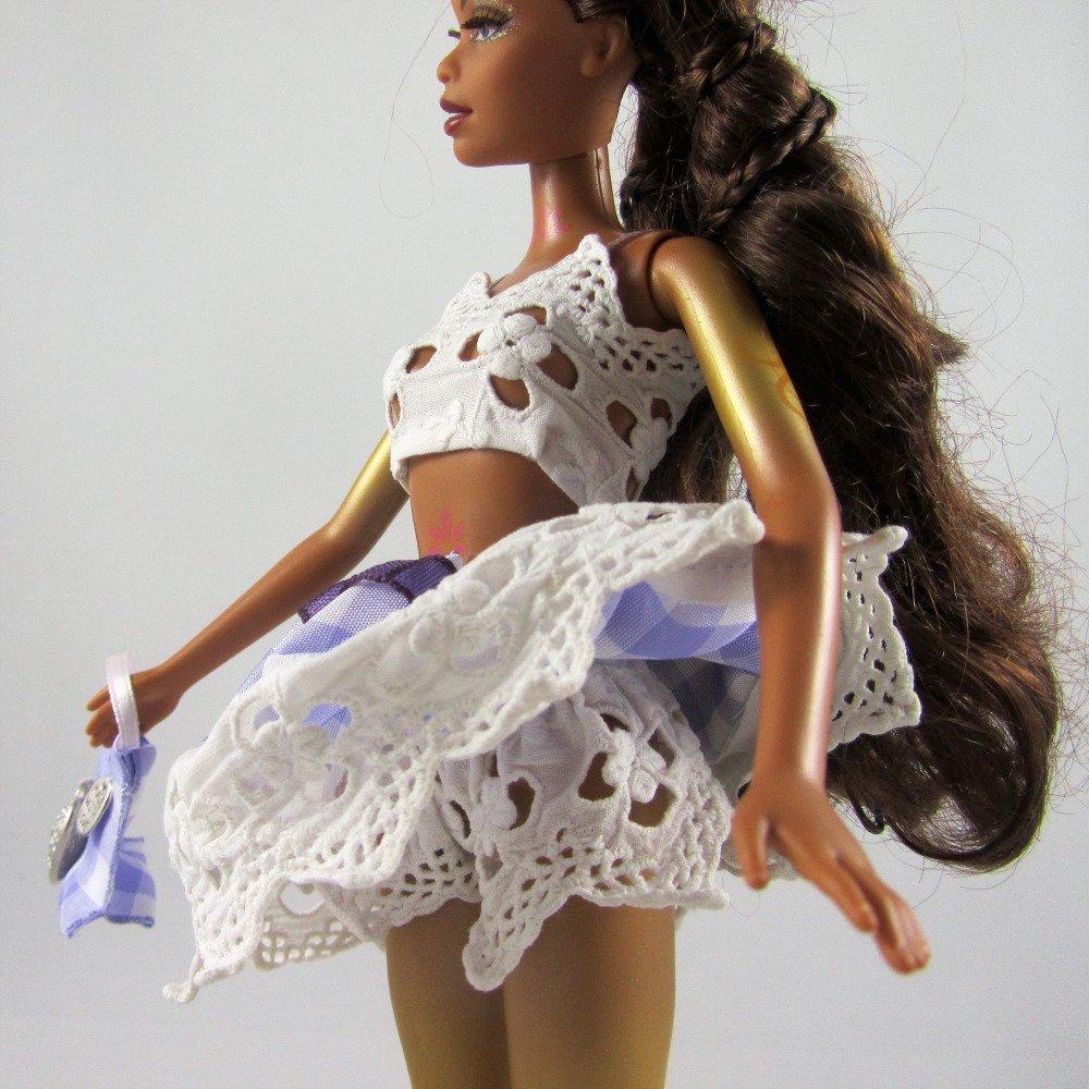 """Vêtements pour poupée Barbie - """"Vive les vacances !"""""""