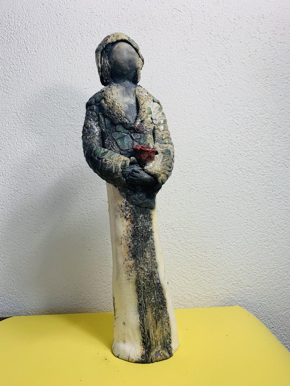 Sculpture en raku