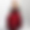 """Vêtement de poupée mannequin """" robe de soirée """" pièce unique fait main"""