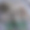 Ensemble enfant fille 3/4 ans coton oeko-tex chapeau tunique bermuda piéce unique fait main
