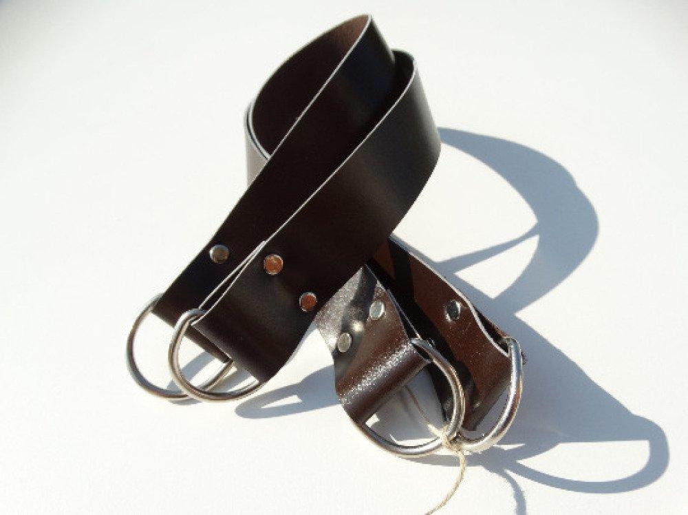 Anses larges en cuir pour sac 46x3cm