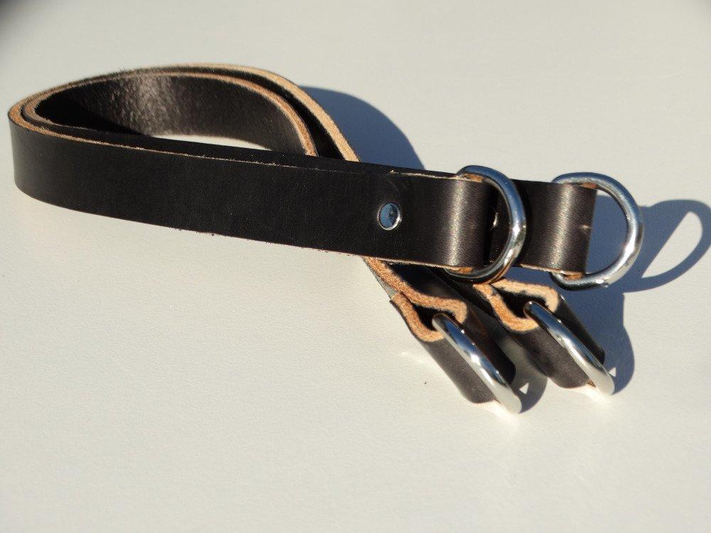 Anses de sacs / poignées cuir (paire)