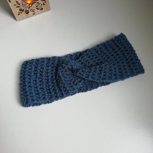 Headband /cache-oreilles pour femme , acrylique, crochet
