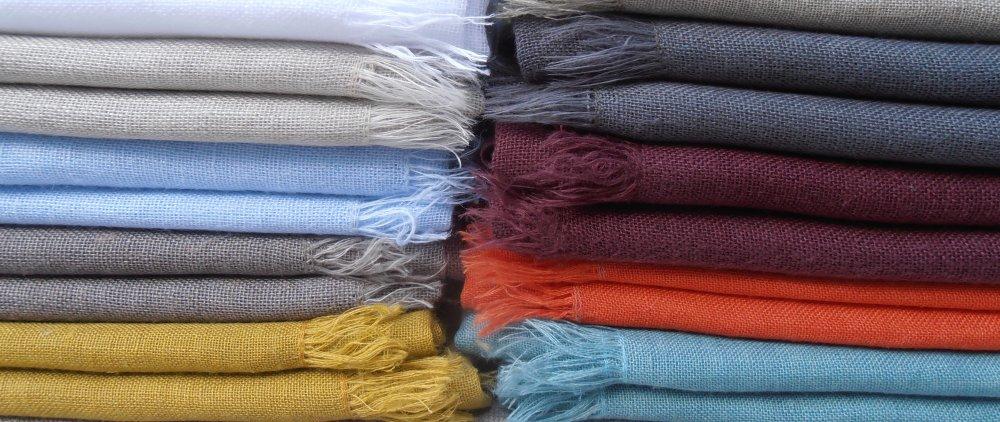 Écharpe en lin pour homme ou femme