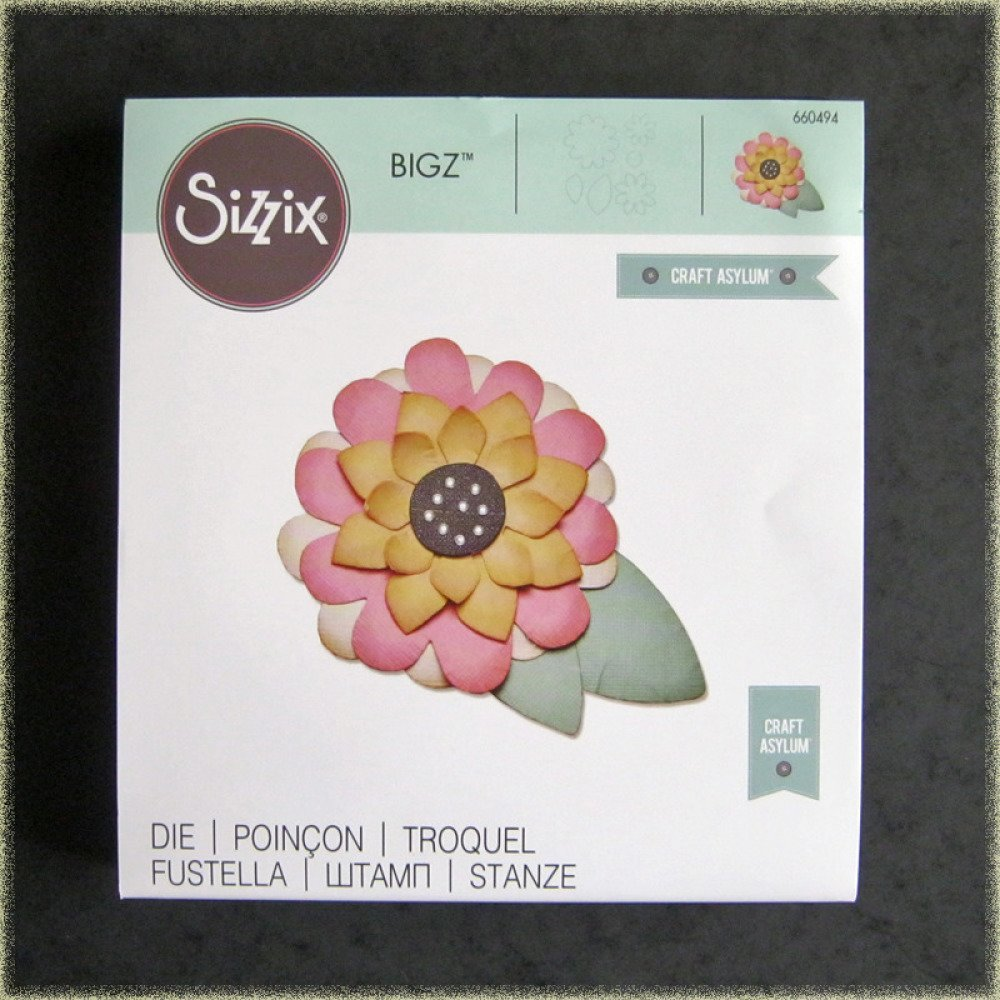 Die découpe Bigz Sizzix Fleur en volume Craft Asylum