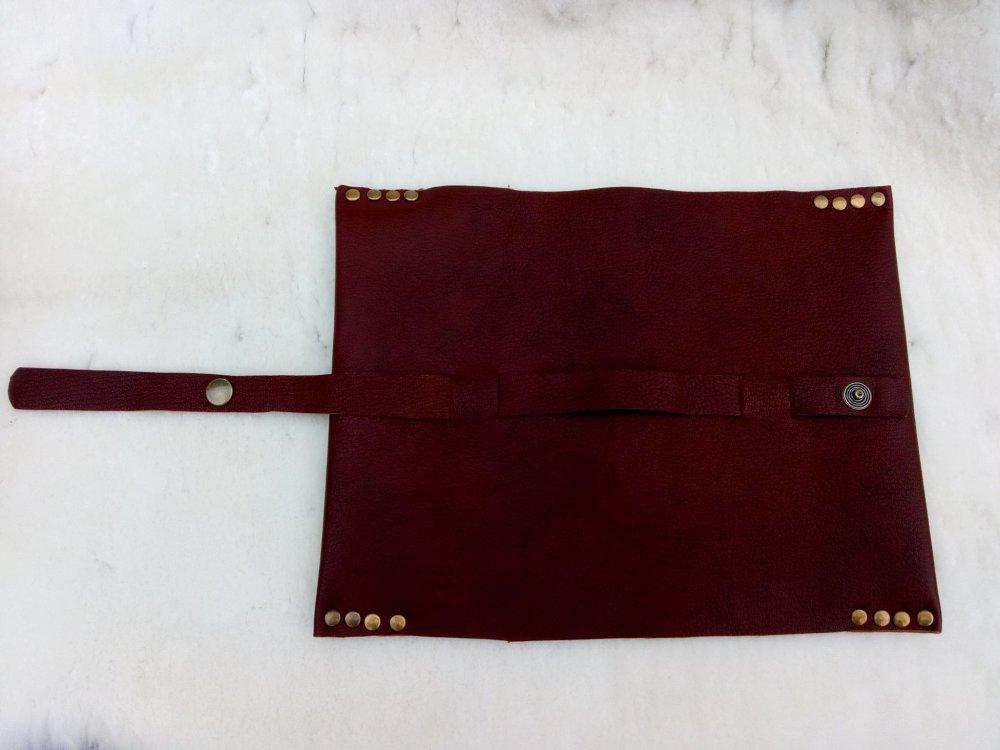 Protège livre de poche cuir
