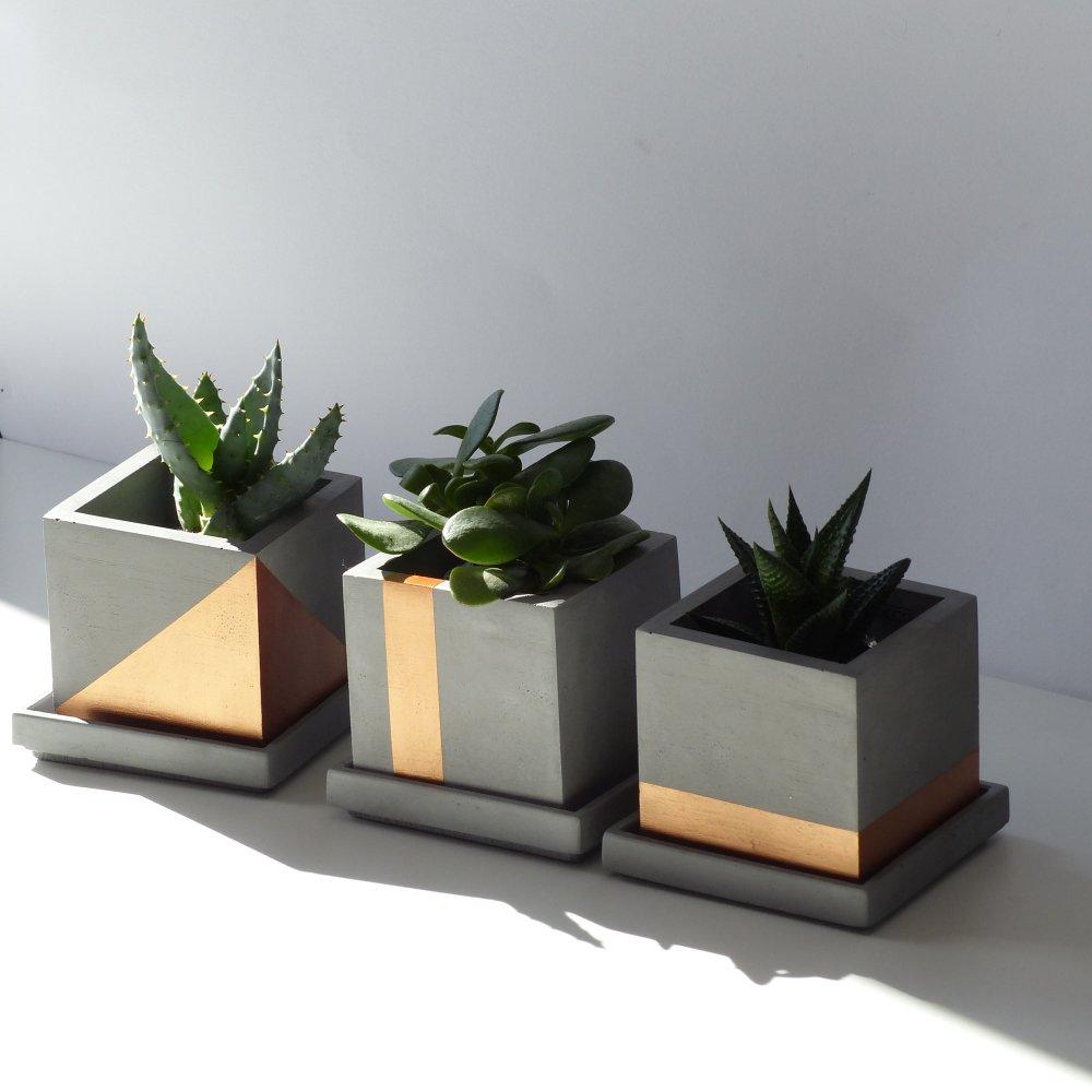 Trio de pots de fleurs Arzon