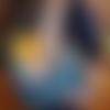 Hamac porte bébé hiver en jersey et polaire (+90 motifs au choix!)