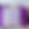 Trousse de toilette violette