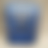 Protège paquet de cigarettes en cuir bleu ou étui pour jeux de cartes