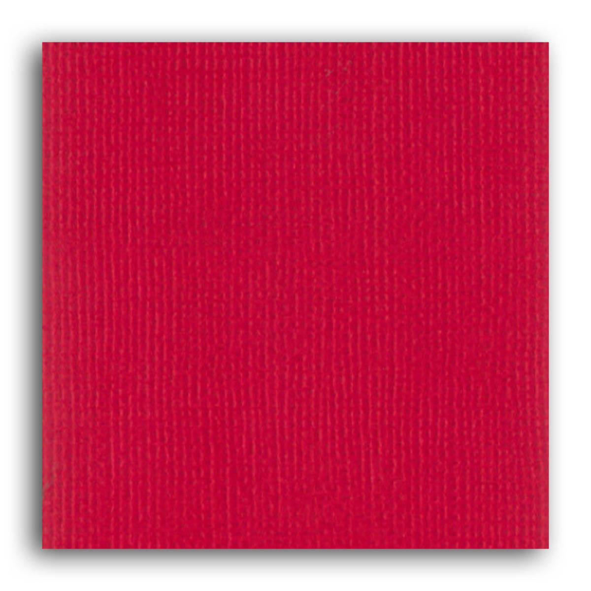 Papier uni 30x30 Mahé 2 Toga - Rouge