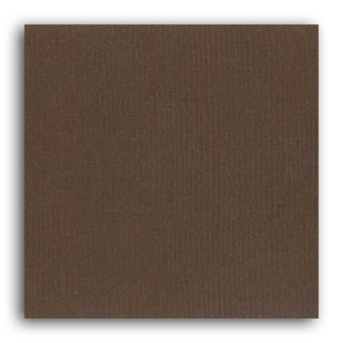 Papier uni 30x30 Mahé 2 Toga - Chocolat