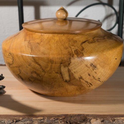 Bonbonnière en bois