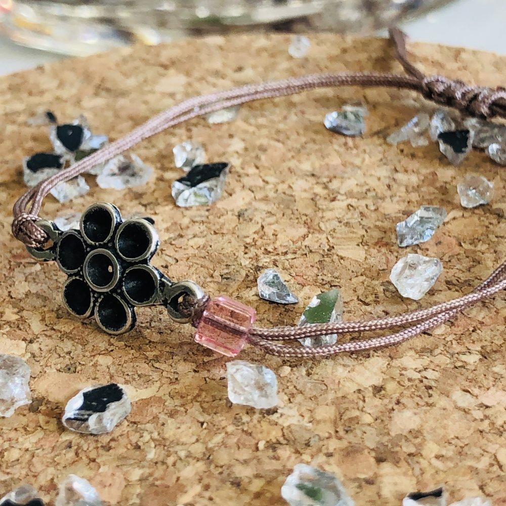 bracelet rose timide