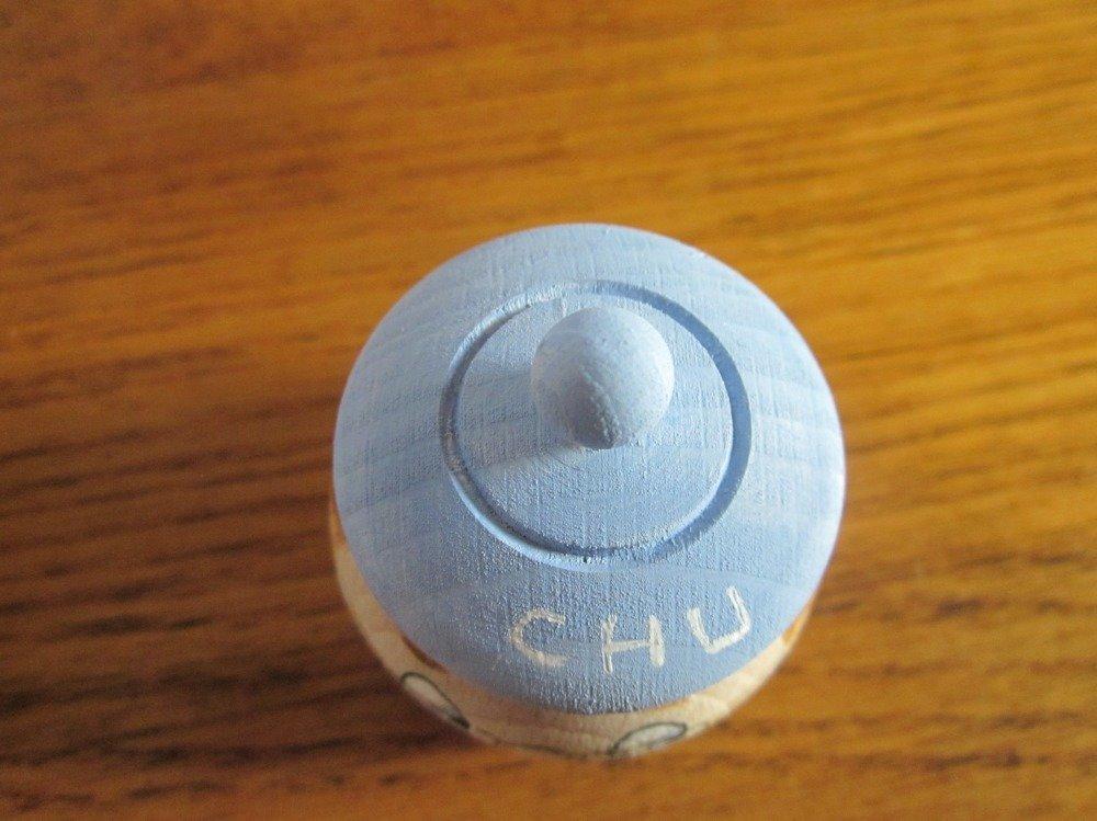 Boîte bleue à dents de lait personnalisable, boîte à secrets, fée des dents, écrin à bagues, pilulier
