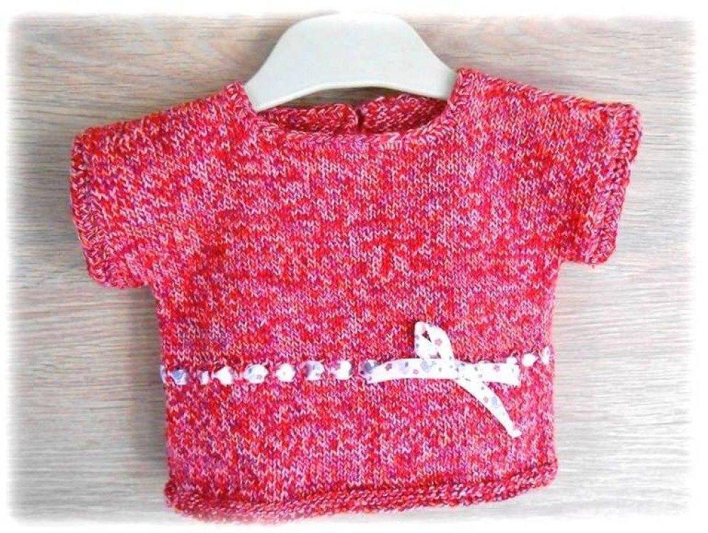 pull bébé en coton 3 mois
