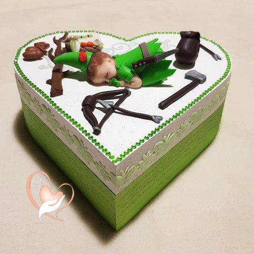 Boîte de naissance bébé garçon robin des bois - au coeur de arts