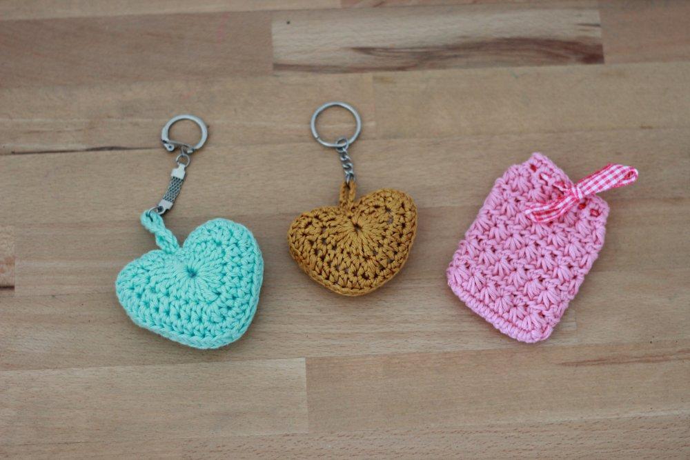 Porte clés et accessoires au crochet