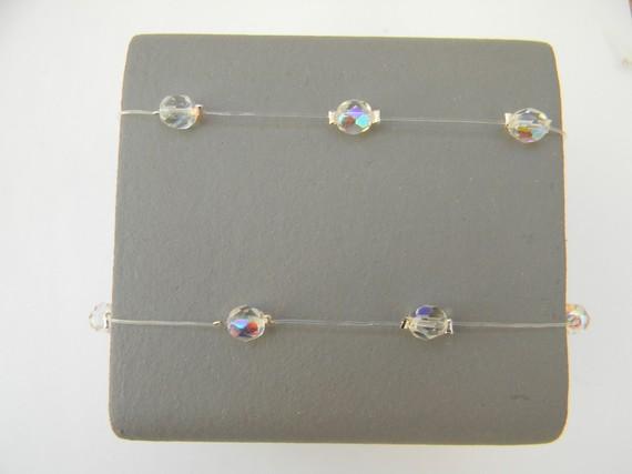 Headband, mariage, cristal de bohème