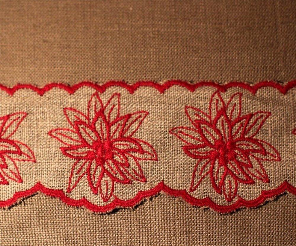Galon lin edelweiss