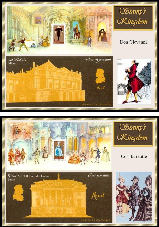 Classeur magique : Mozart et ses Opéras