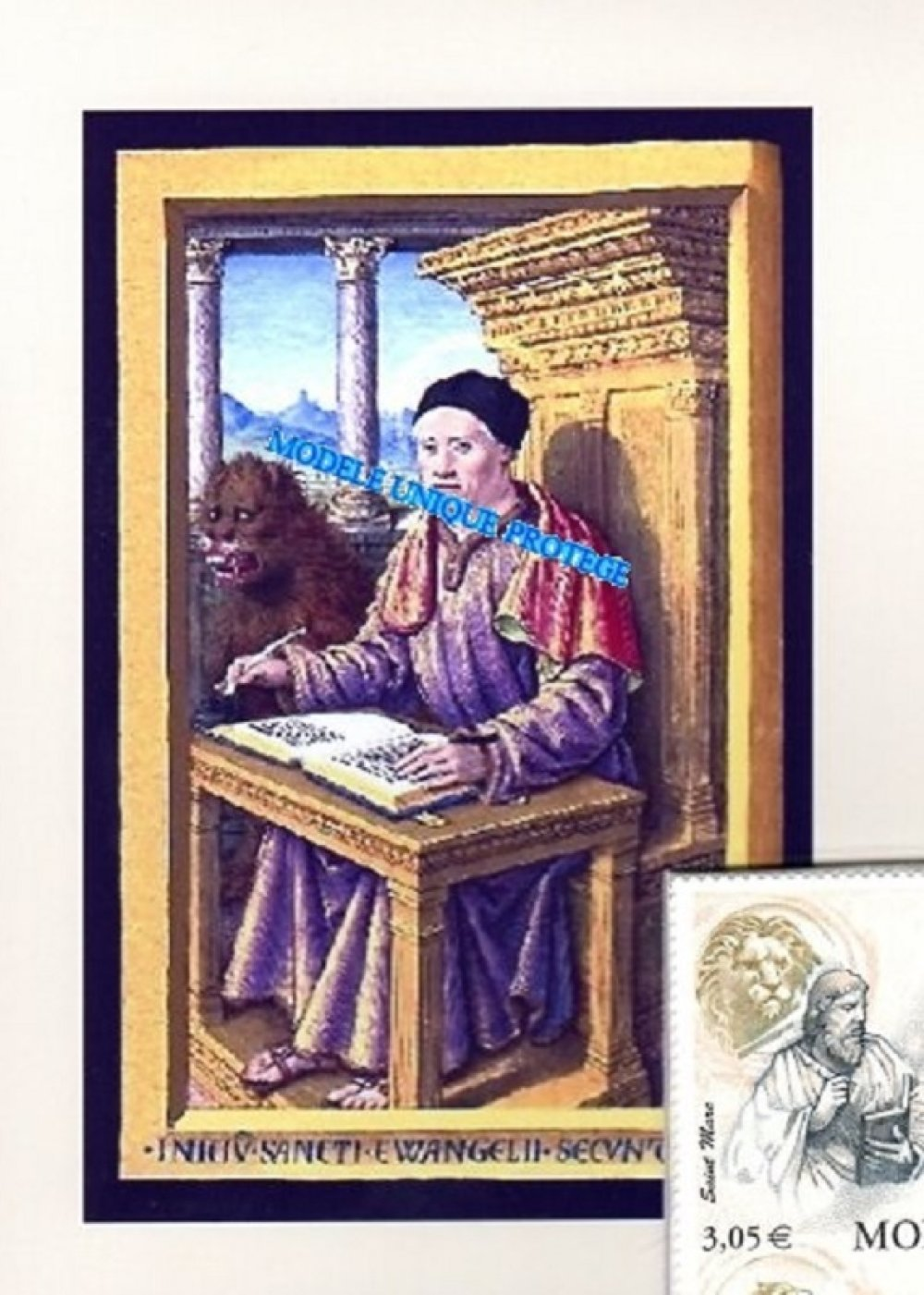 Les 4 évangélistes, Art religieux, Montage photo unique fabriqué en France, art numérique, décoration murale, modèle unique.