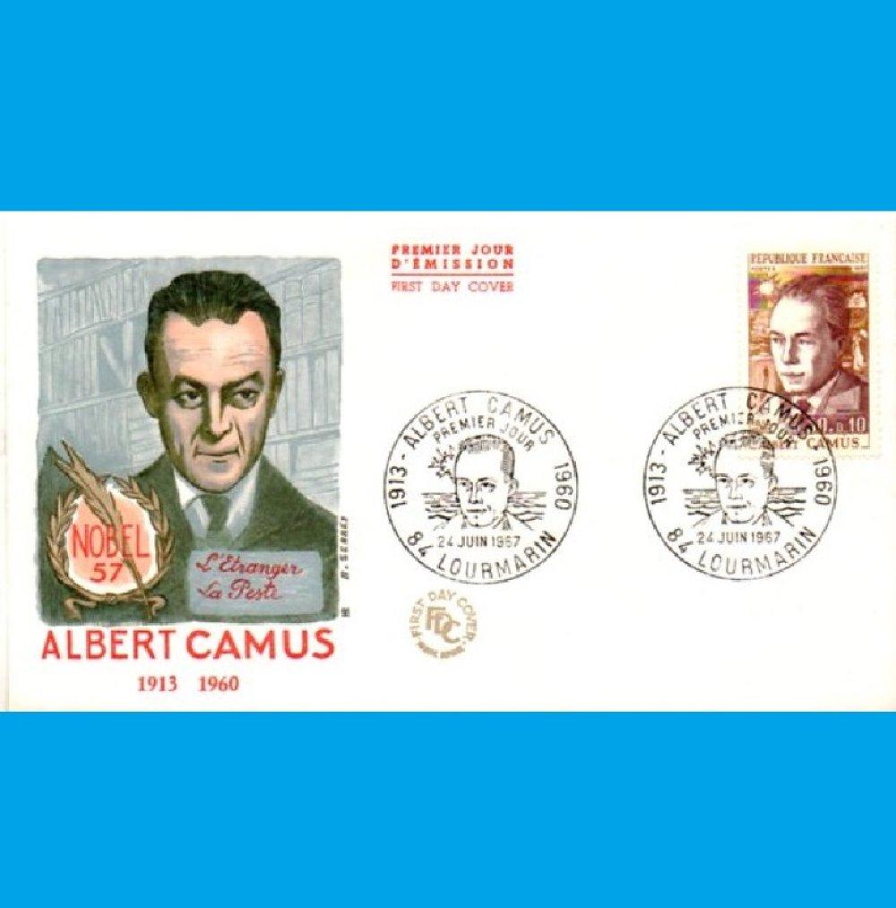 Albert Camus, écrivain, philosophe