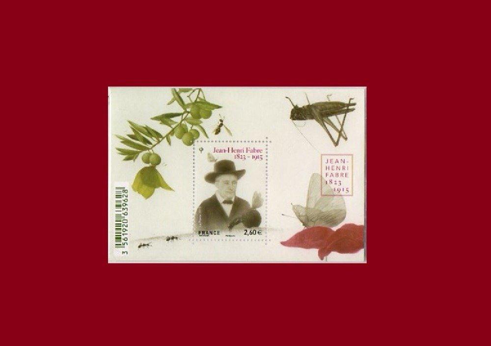 Jean-Henri Fabre, entomologiste français, poète, Montage photo, modèle unique, made in France,  art numérique