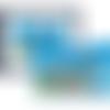 Albatros d'amsterdam, art numérique, décoration murale, bloc de timbres sur montage photo unique, objet de collection par jfb