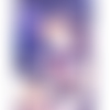 Jean-baptiste greuze, peintre, «art moralisateur» impression numérique a4 avec timbres postaux, par jfb