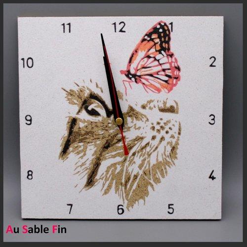 Horloge en sable - complices