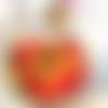 Scrunchie femme madras rayures