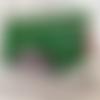 Portefeuille femme simili vert