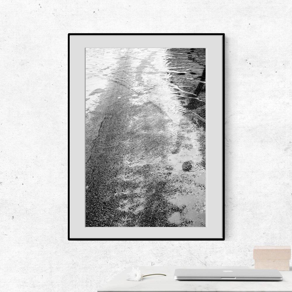 Photographie Asphalte, 30x40cm. Photographie d'art.Impression jet d'encre sur papier Hahnemühle Fine Art Pearl