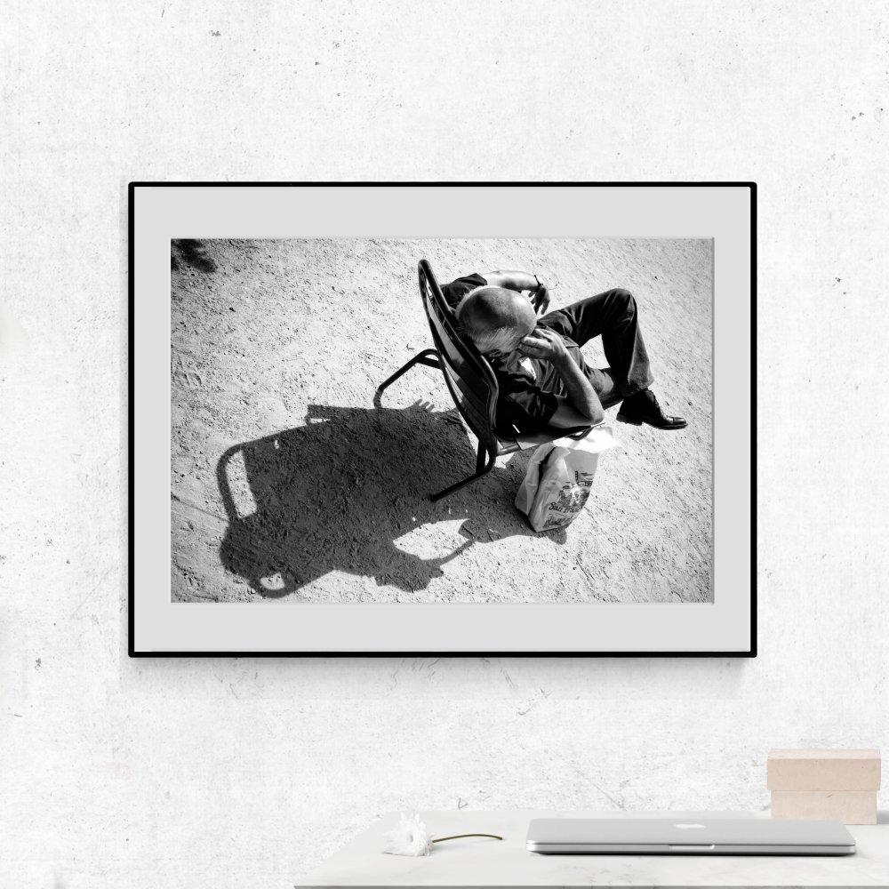 Ombres 2, Paris, 21x30cm, photographie d'art sur Hahnemühle fine art pearl limitée 30 exemplaires.