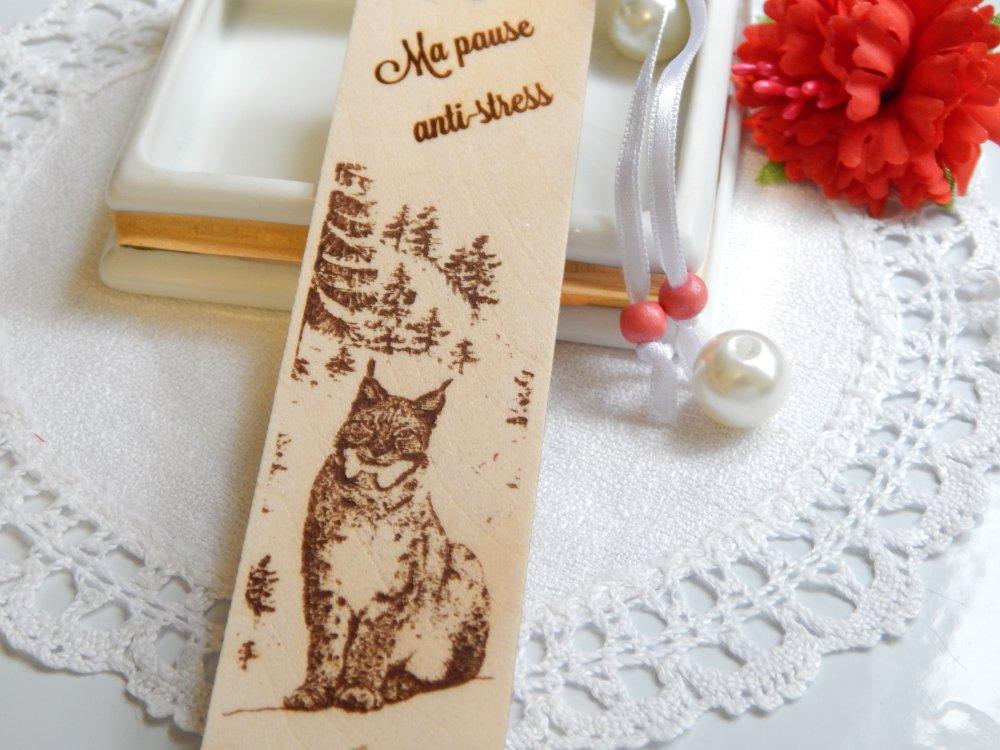 Marque page en bois